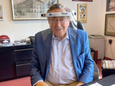 Gesichtsschutz Richard Lugner 3