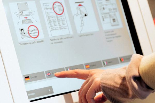 Virenschutzfolie Anwendung Touchscreen